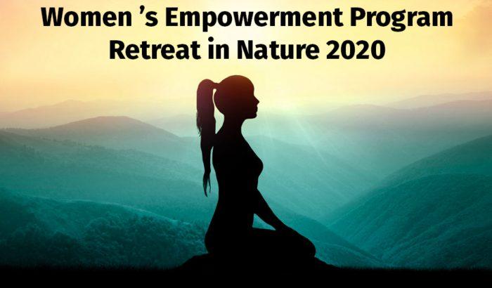 Women's empowerment retreat in nature 2020
